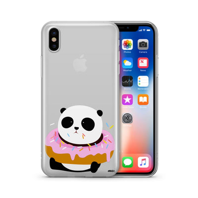 Pandonut - Clear Case Cover - Milkyway Cases -  iPhone - Samsung - Clear Cut Silicone Phone Case Cover