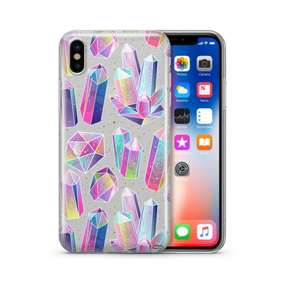 Pellucid - Clear Case Cover - Milkyway Cases -  iPhone - Samsung - Clear Cut Silicone Phone Case Cover
