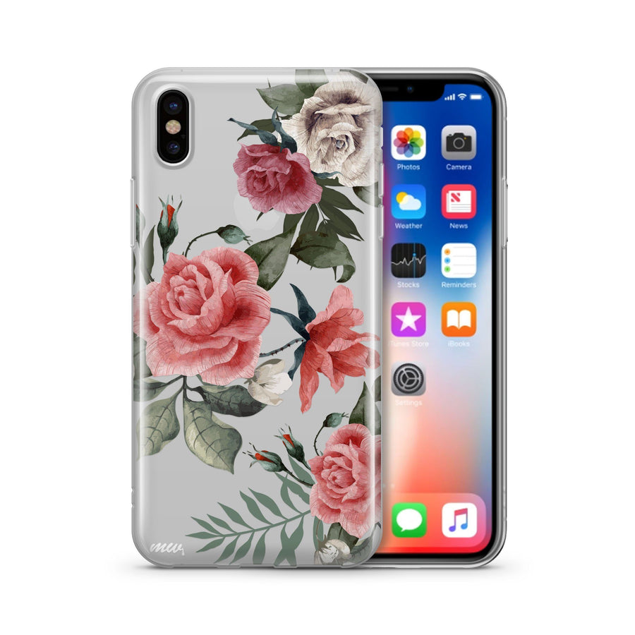 Petals - Clear TPU - iPhone Case