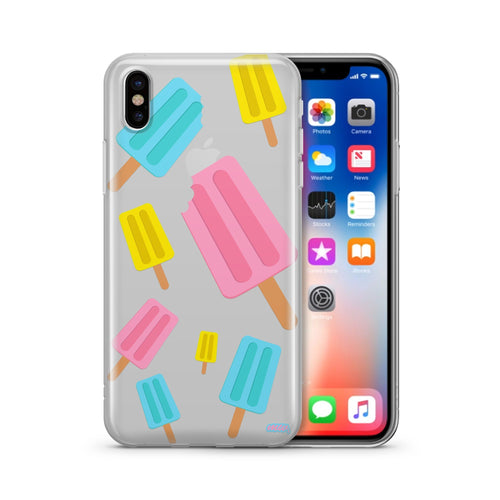 Popsicles - Clear TPU Case Cover