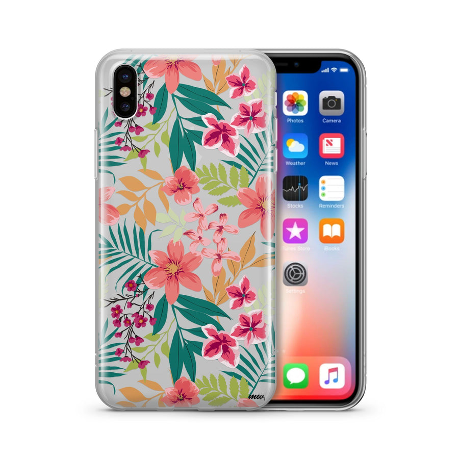 Summer Blossom - Clear Case Cover