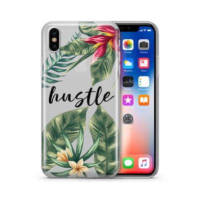 Tropic Hustle Clear TPU Case - Clear Cut Silicone iPhone Cover - Milkyway Cases