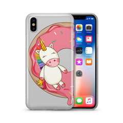 Unicorn Sprinkles - Clear Case Cover
