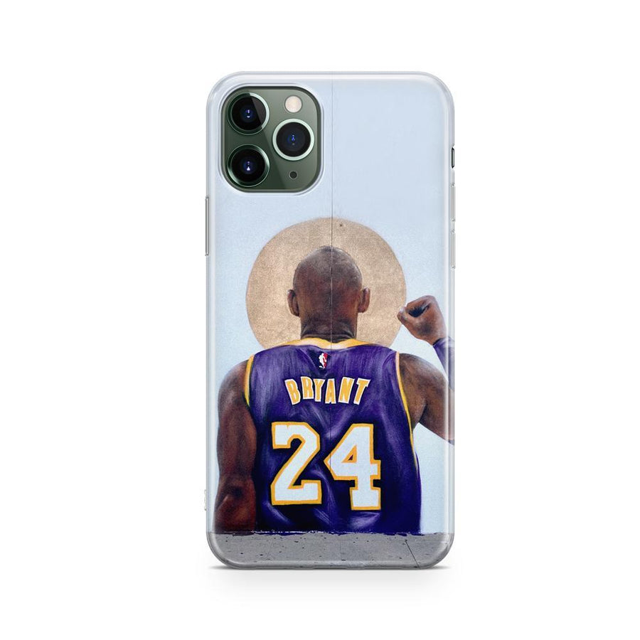 @Isaacpelayo X Milkywaycases Kobe Mural - iPhone Clear Case