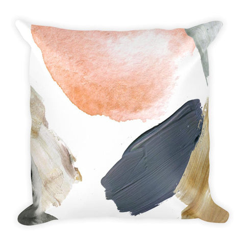 Abstract Party Square Pillow