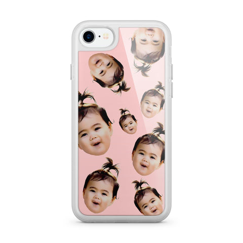 Premium Milkyway iPhone Case - Custom Baby Girl