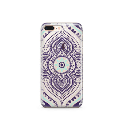 Opulent Mandala - Clear TPU Case Cover - Milkyway Cases -  iPhone - Samsung - Clear Cut Silicone Phone Case Cover