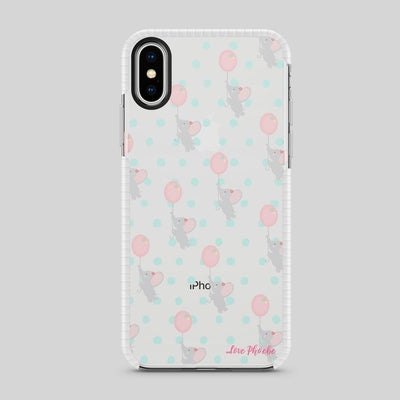 Phoebe X Milkyway Tough Bumper iPhone Case - Elephant