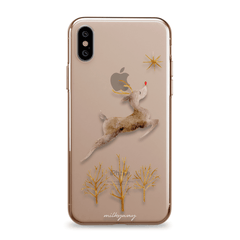 Rudolph - iPhone Clear Case