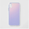 Plain Holographic Case - Clear Cut Silicone iPhone Cover - Milkyway Cases