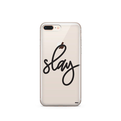 Simple Slay - Clear Case Cover - Milkyway Cases -  iPhone - Samsung - Clear Cut Silicone Phone Case Cover