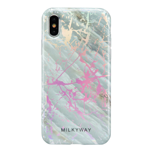 Holographic iPhone Case SLATE MARBLE