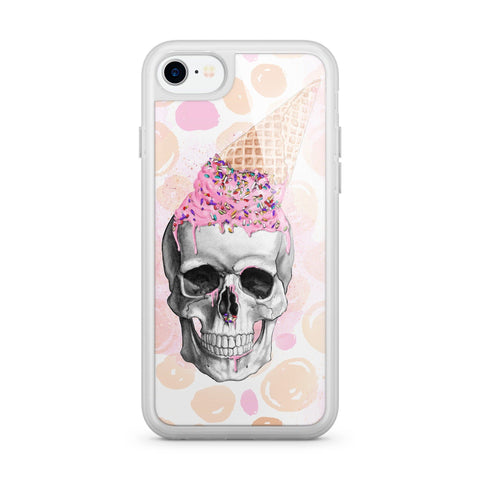 Premium Milkyway iPhone Case - Summer Skull