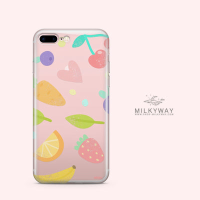 Vegan - Clear Case Cover - Milkyway Cases -  iPhone - Samsung - Clear Cut Silicone Phone Case Cover