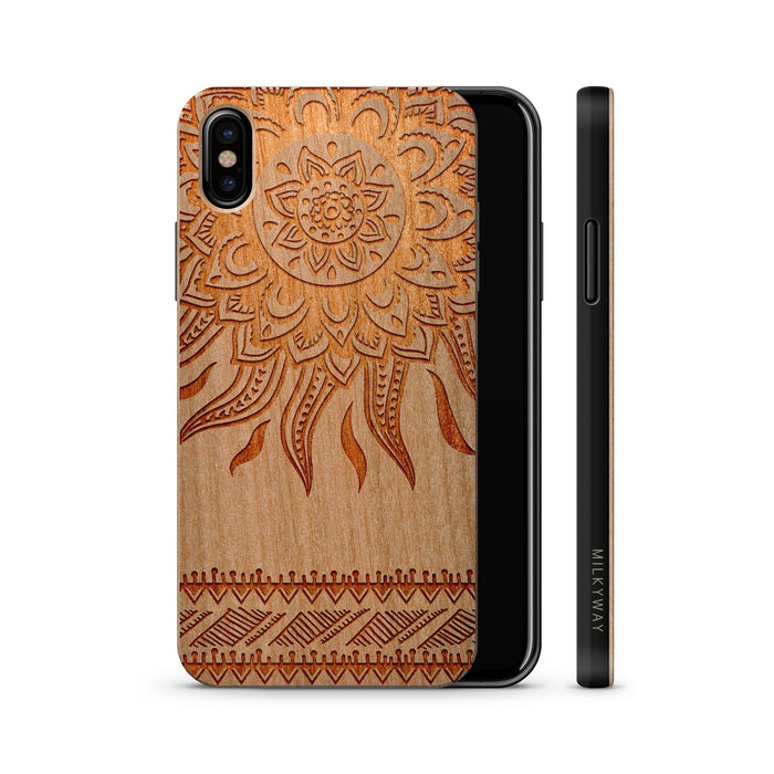 Sun Aztec wood case
