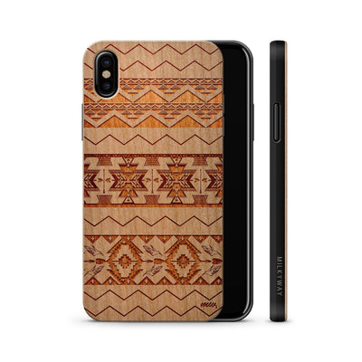 Wood  - Mixed Up Aztec iphone