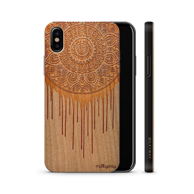 Wood  - Dripping Dreamcatcher iphone x