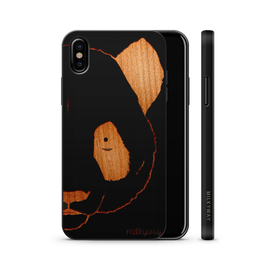 Wood  - Half Panda iphone x