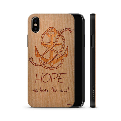 Wood  - Hope Anchors the Soul iphone x