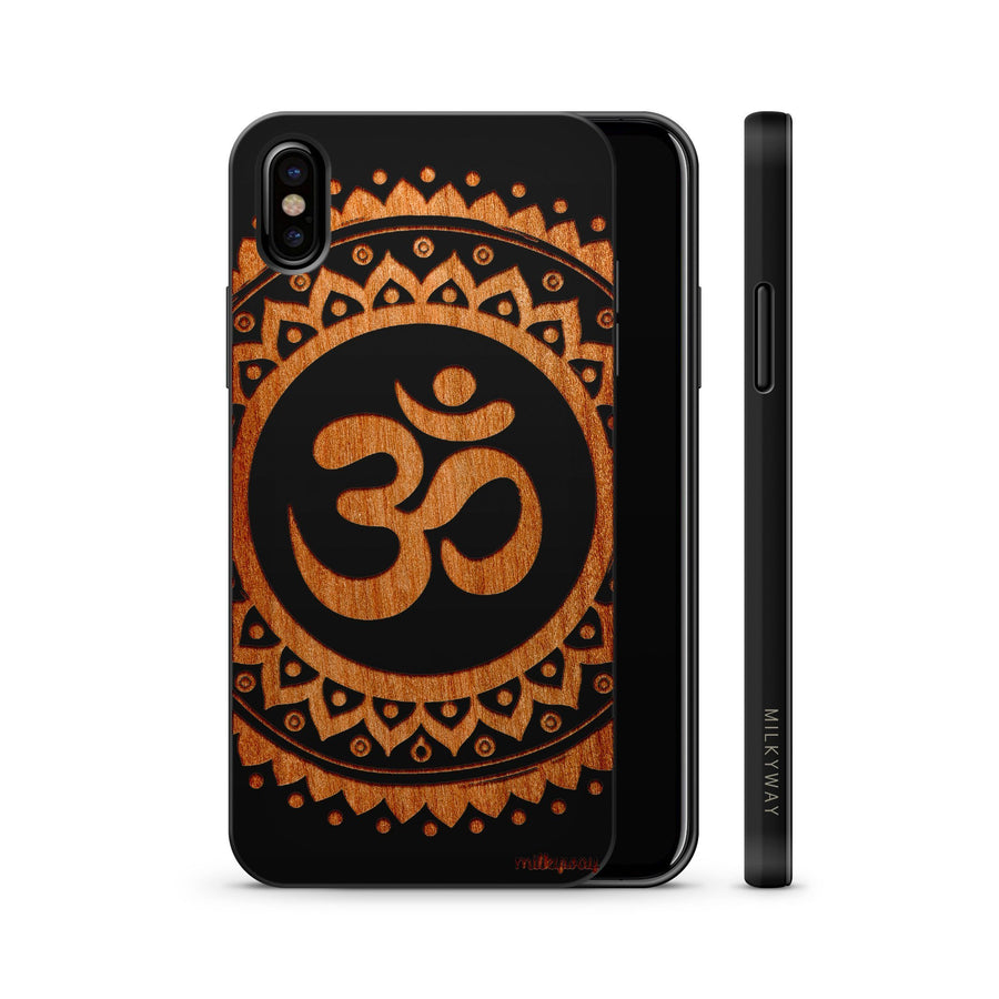 Wood  - Ohm Mandala iphone 6 7 8