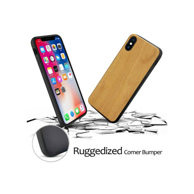 Wood  - Wanderer - Milkyway Cases -  iPhone - Samsung - Clear Cute Silicone Phone Case Cover