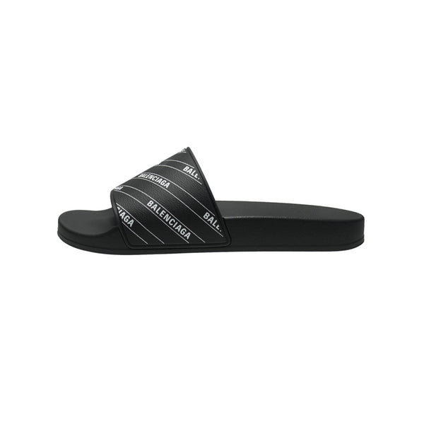 BALENCIAGA SLIDES BLACK