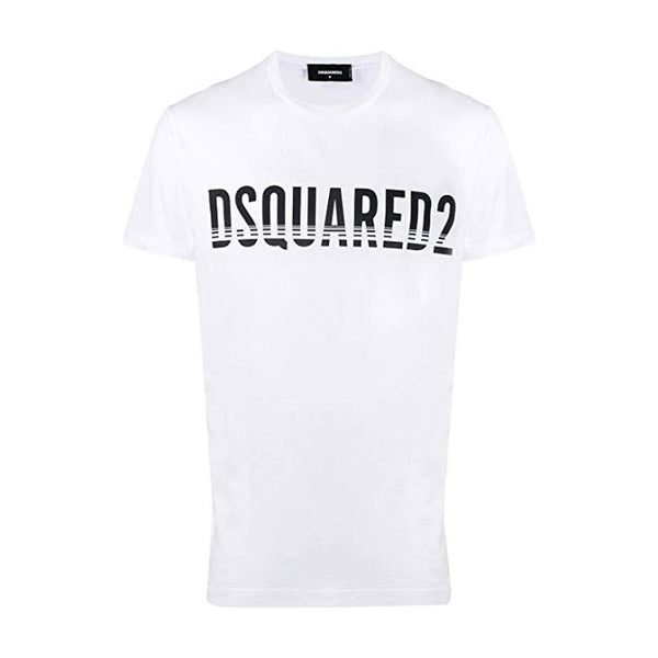 DSQUARED2 BROKEN WHITE T-SHIRT