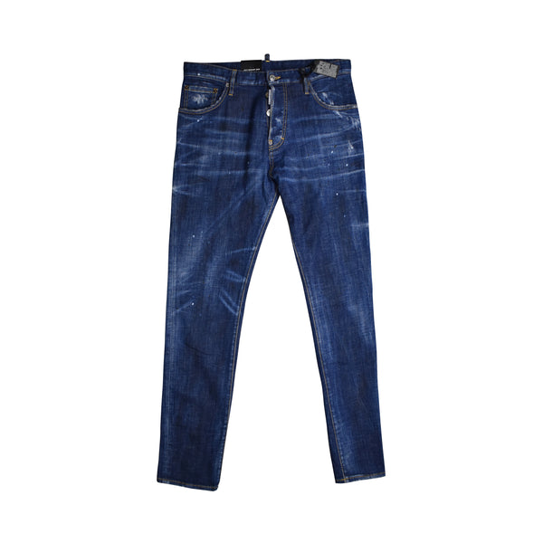 DSQUARED2 DARK WASH JEANS