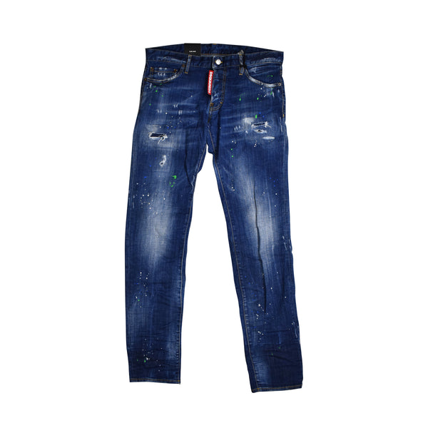 DSQUARED2 PAINTED WASH JEANS