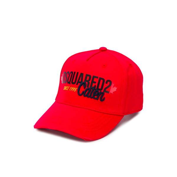 DSQUARED2 CAPS RED