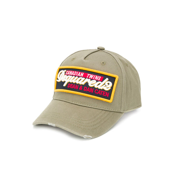 DSQUARED2 CAP ARMY GREEN
