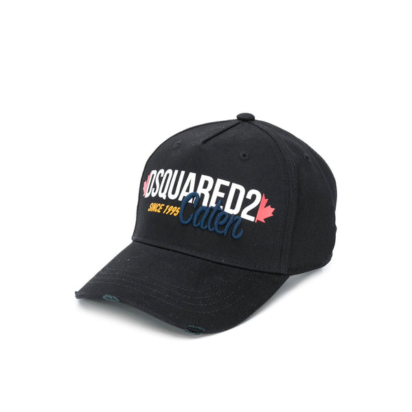 DSQUARED2 CAP BLACK