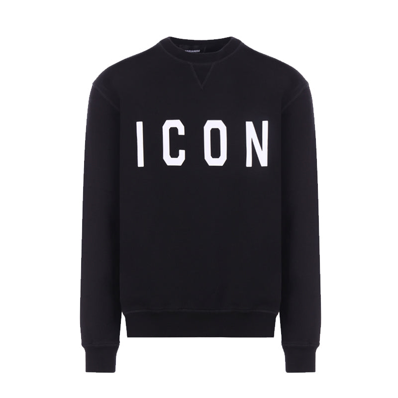 DSQUARED2 SWEATER ICON BLACK