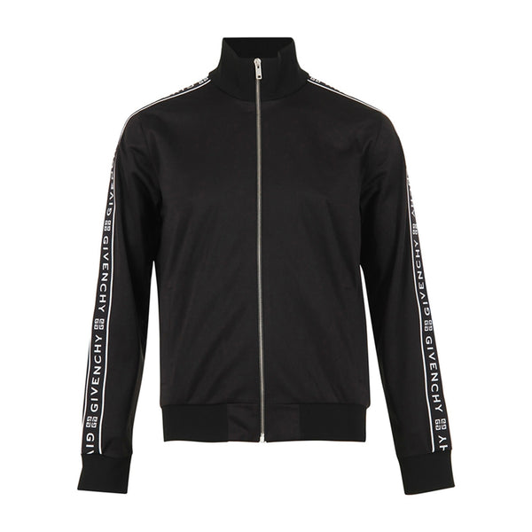 GIVENCHY WEBBING TRACK JACKET BLACK