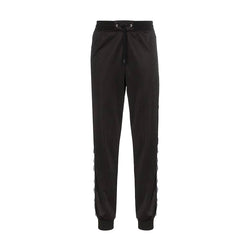 GIVENCHY WEBBING TRACK PANTS BLACK