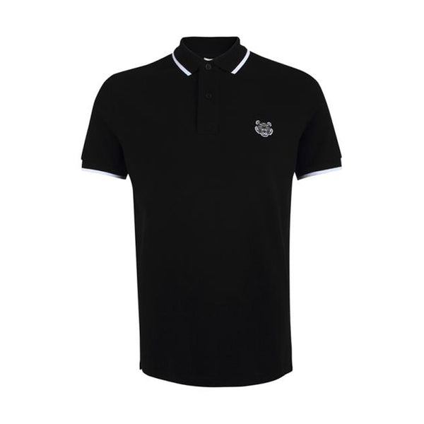 POLO TIGER CREST REGULAR FIT BLACK