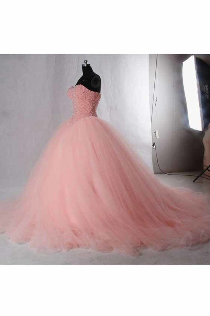 2021 Quinceanera Dresses Ball Gown Sweetheart Beaded