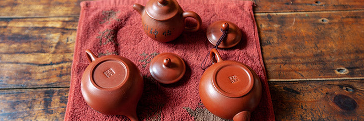 Learn how to cure a gongfu (yixing) teapot!