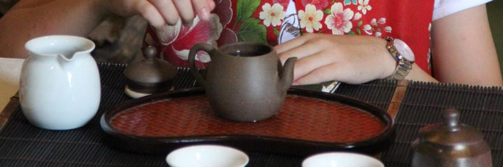 Brewing tea the traditional way