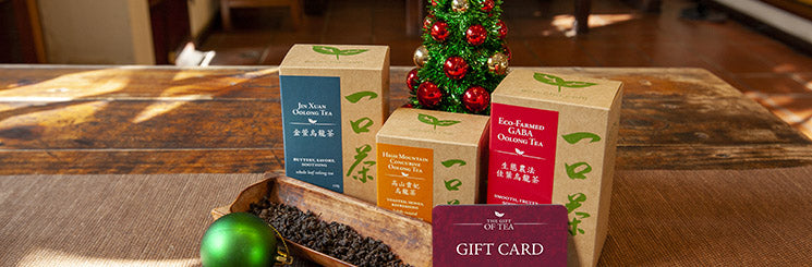 Holiday gift ideas from Eco-Cha Teas