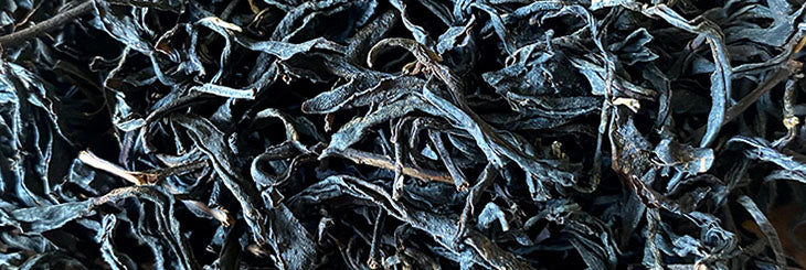 Pingling Qin Xin Black Tea dried leaves