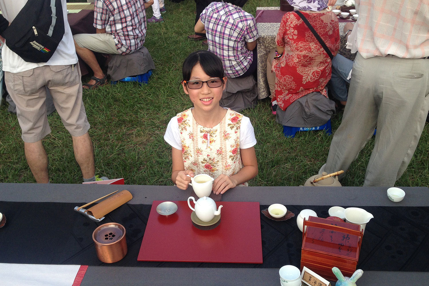 1000 People Brew Tea Event