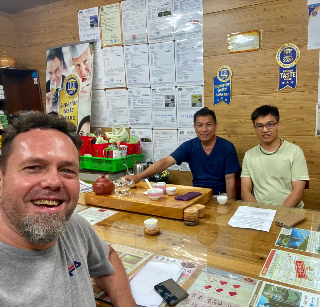 Eco-Cha interview with Taiwanese organic tea farmers