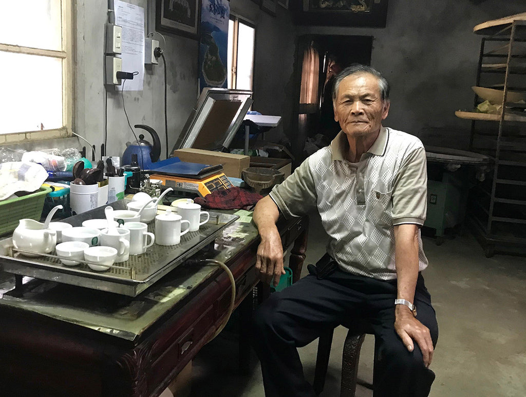 Sustainable oolong tea farmer, Mr. Su