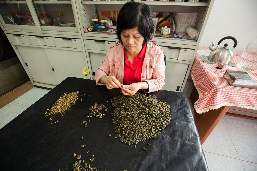 Sustainable tea farming involves relatively small-scale production