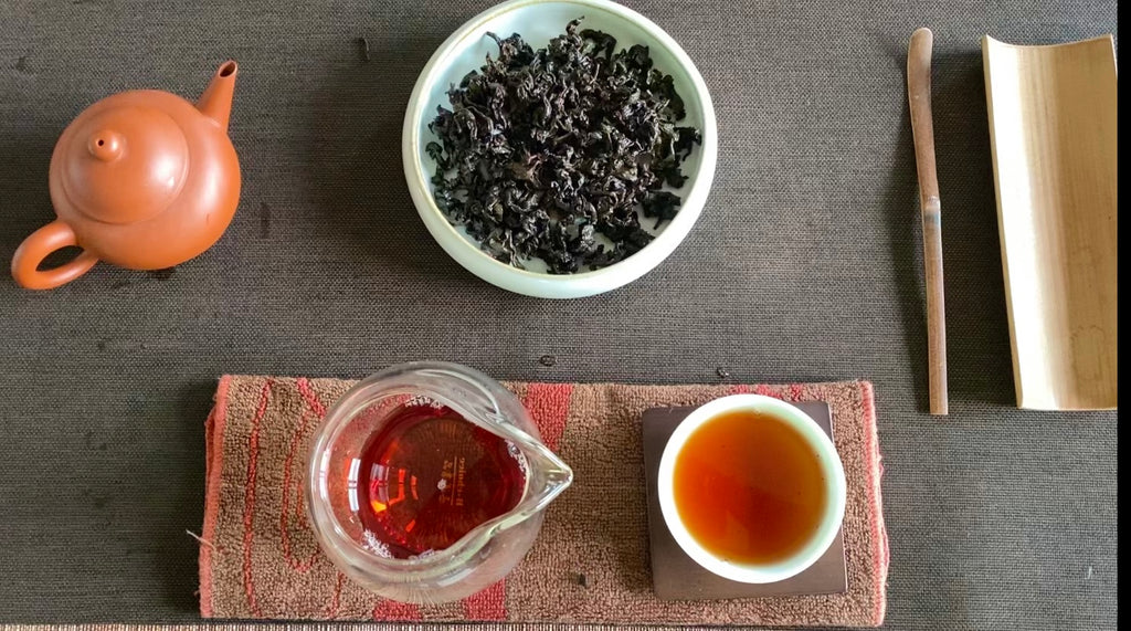 Heavy Roast Wuyi Oolong Gongfu Brew