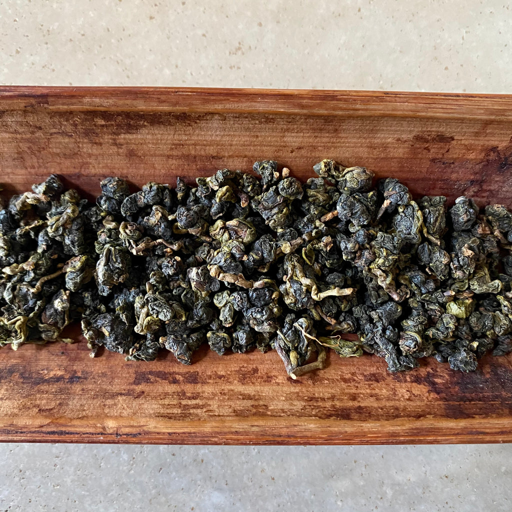 Eco-Farmed Yushan High Mountain Oolong Tea Dried Leaves | Eco-Cha Tea Club