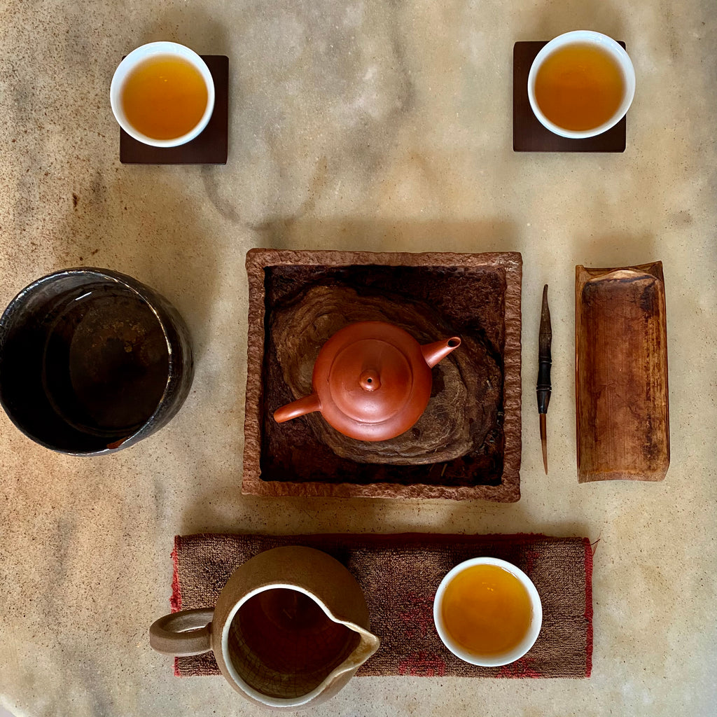 Charcoal Roasted High Mountain Oolong Tea spring 2020 Gong Fu Brew
