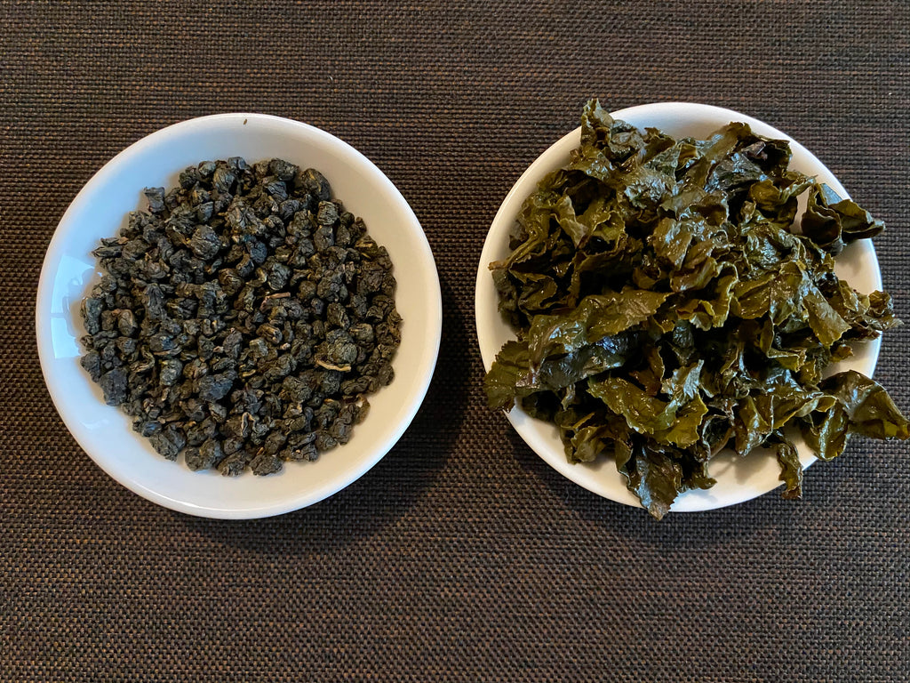 Top Award Winning Dong Ding Cui Yu Oolong tea leaves (dry)