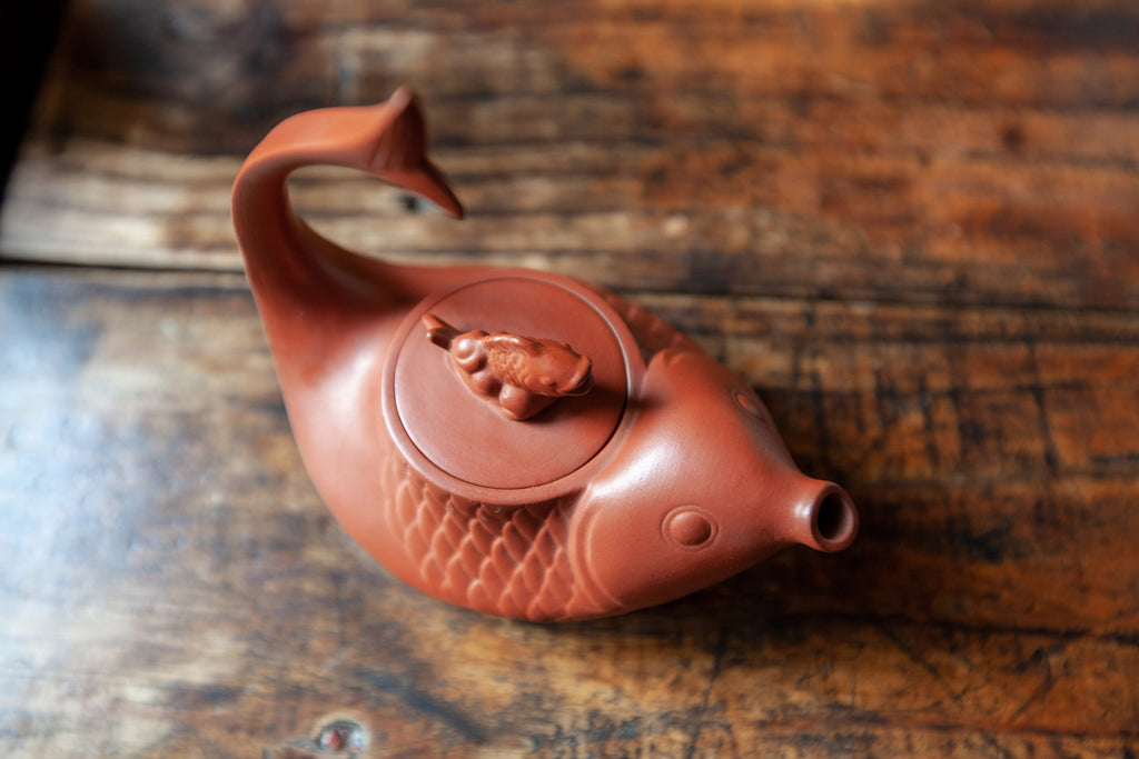 Eco-Cha Dragon Boat Festival Fish Teapot